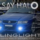 2004 2005 2006 2007 Holden VZ Commodore Halo Fog Lamp Driving Light Kit sedan ute wagon