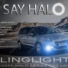 Peugeot 5008 Halo Fog Lamps Driving Lights Kit Angel Eyes