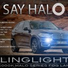 2014 2015 2016 BMW X5 Halo Fog Lamp Driving Light Kit F16 Angel Eyes