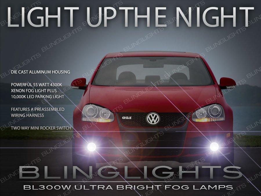 2005-2010 VW Jetta A5 Xenon Fog Lamp Driving Light Kit Volkswagen
