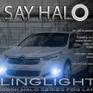 Citroen C4 L Halo Fog Lamp Driving Light Kit Citroën Angel Eyes