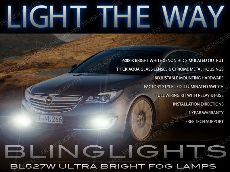 2014 2015 2016 Opel Insignia Driving Light Fog Lamp Kit saloon hatchback
