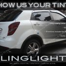 SsangYong Korando Tinted Tail Lights Smoked Lamps Overlays Kit Lense Film Protection