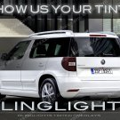 Skoda Yeti Smoked Tail Light Tinted Overlays Murdered Out Lamp Lense Protection Film Škoda