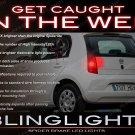 Seat Mii Tail Lamps Spider White Light Bulbs Pair Custom Lites