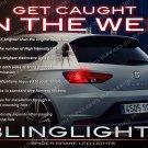 SEAT Leon Custom White Spider Taillamps Light Bulb León Lamp Lites