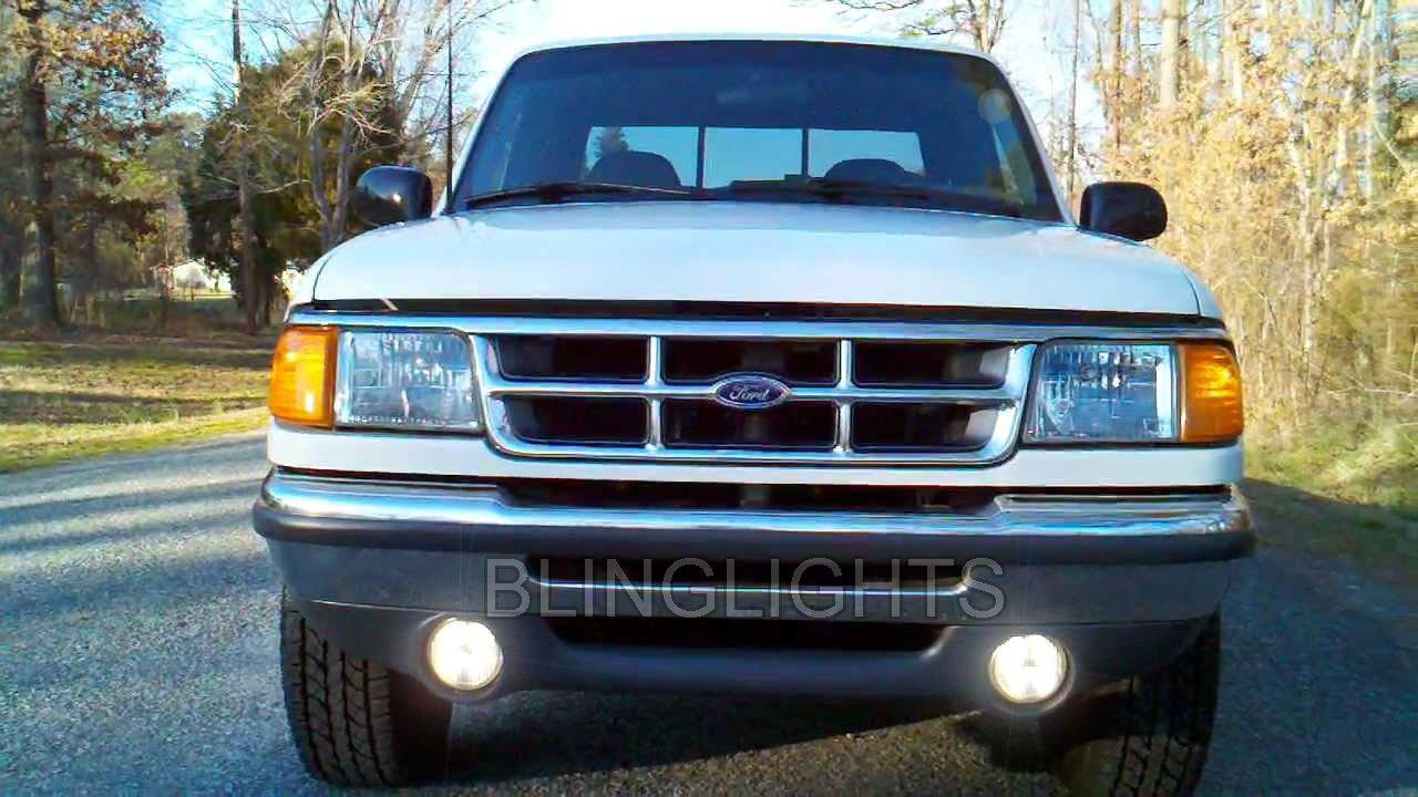 1993-1997 Ford Ranger Splash Halo Fog Lamp Driving Light Kit