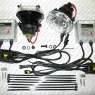 "Xenon HID 4"" Round Fog Lamp Driving Light Kit 3000K 4300K 6000K 8000K 10000K Xelux"