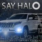 2013 2014 2015 Toyota Land Cruiser Prado Halo Foglamps Driving Lights Kit AngelEye Fog Driving Lamps