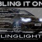 Toyota Verso LED DRL Head Light Strips Day Time Running Lamps Kit R20 AR20 ZGR20 AUR20