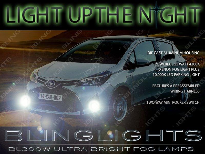 2015 2016 2017 Toyota Yaris Xenon Fog Lamps Lights Kit