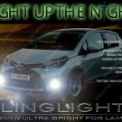 2015 2016 Toyota Yaris Xenon Drivinglights Fog Lamps NCP150 Kit + Harness Relay Switch
