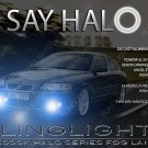 Volvo S60R Halo Fog Lamps S60 R Angel Eye Driving Lights 2003 2004 2005 2006 2007 2008 2009