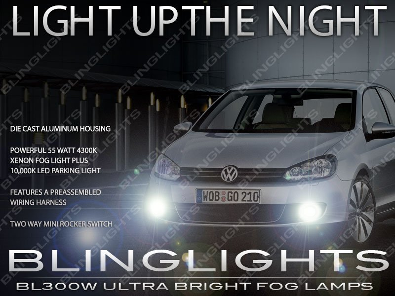 2009-2014 Volkswagen Golf Mk6 Xenon Foglamp VW Drivinglight Kit