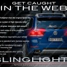 VW Touareg Custom LED Tail Lamp Upgrade Replacement Light Bulbs Volkswagen