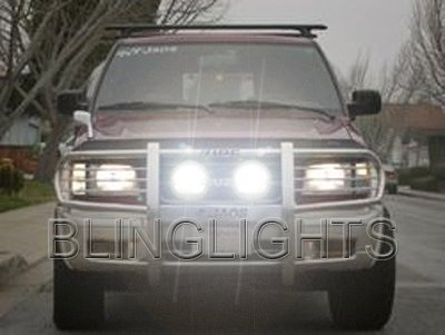 Isuzu Rodeo Off Road Auxilliary Driving Lights Bumper Bar Lamp Kit