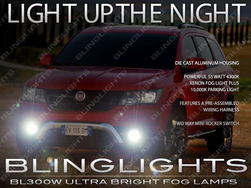 Fiat Freemont Foglamps Drivinglights Kit 2012 2013 2014 2015 2016
