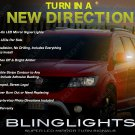 Fiat Freemont LED Mirror Turnsignals Side View Blinker Lights Set