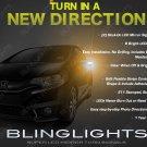 Honda Fit LED Mirror Turnsignals Side View Blinker Lights Pair