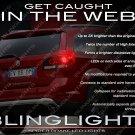 Dodge Journey Custom White LED Taillamp Spider Light Bulbs