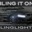 Chevrolet Caprice LED Head Light Strips Day Time Running Lamps Kit Chevy DRL