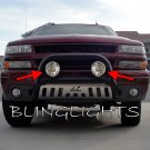 Chevrolet Silverado Auxilliary Driving Lights Bumper Bar Off Road Lamps