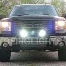 GMC Yukon Bumper Bar Off Road Lamps Driving Lights Kit