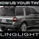 Ford Expedition Murdered Out Tail Light Overlays Lamp Tinted Covers