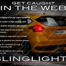 Ford Focus Custom White LED Tail Lamp Spider Light Bulbs Sedan Hatch