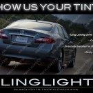 Infiniti M Tinted Taillamp Overlays M25 M30d M35 M35h M37 M45 M56