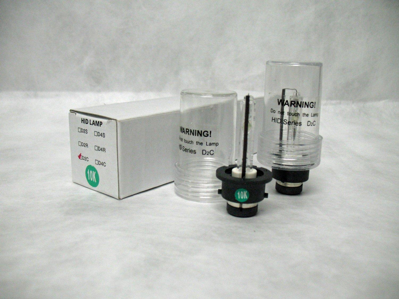 10,000K D2R Xenon HID Head Lamp Replacement Light Bulbs