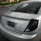 Saturn Ion Murdered Out Taillamps Overlays Tinted Taillights Covers
