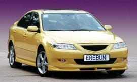 2003 2004 2005 Mazda6 Erebuni Body Kit Xenon Fog Lamps Lights