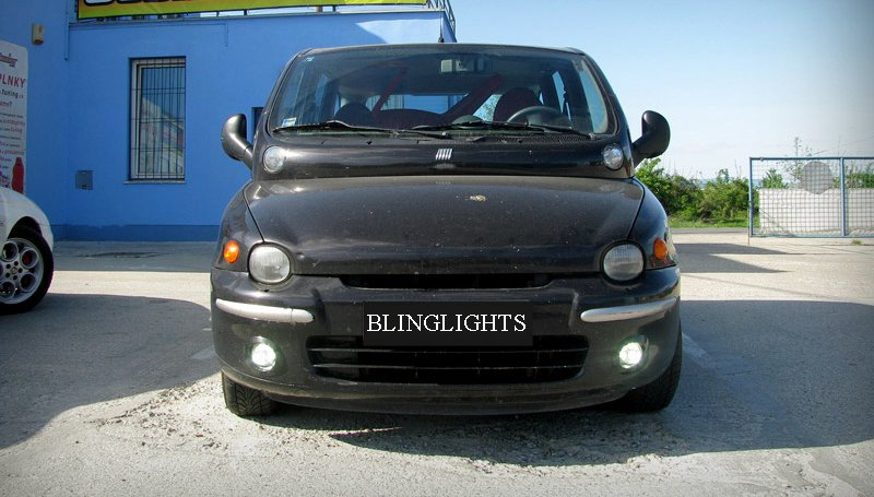 Fiat Multipla Halo Fog Lamps Angel Eye Driving Lights Kit