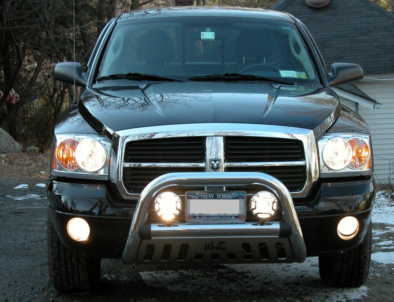 Dodge Dakota Off Road Bumper Lamp Bar Auxilliary Driving Lights Kit