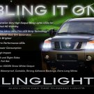 Nissan Titan LED DRL Head Light Strips Day Time Running Lamps