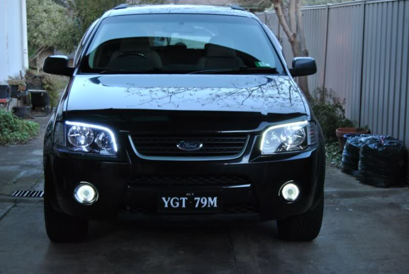Ford Territory SX SY Halo Fog Lamps Lights 2004 2005 2006 2007 2008 2009