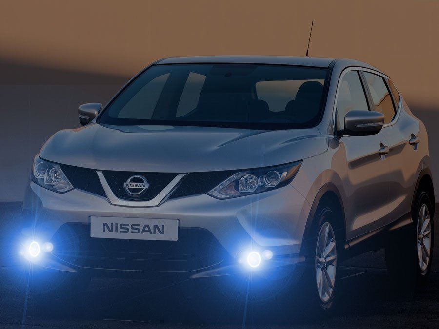 2014 2015 2016 2017 Nissan Qashqai Xenon Fog Lamps Lights Kit