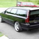 Volvo V70 Murdered Out Taillamp Covers Tinted Taillight Overlays