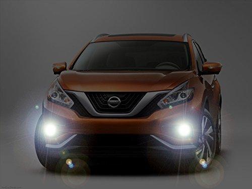 2015-2019 Nissan Murano Xenon Halogen Fog Lamps Lights Kit