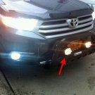 Toyota Highlander Kluger PIAA 510 Off Road Driving Lights Bar Lamp Kit