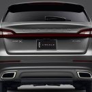 Lincoln MKX Tinted Tail Light Covers Smoked Lamp Guards Kit