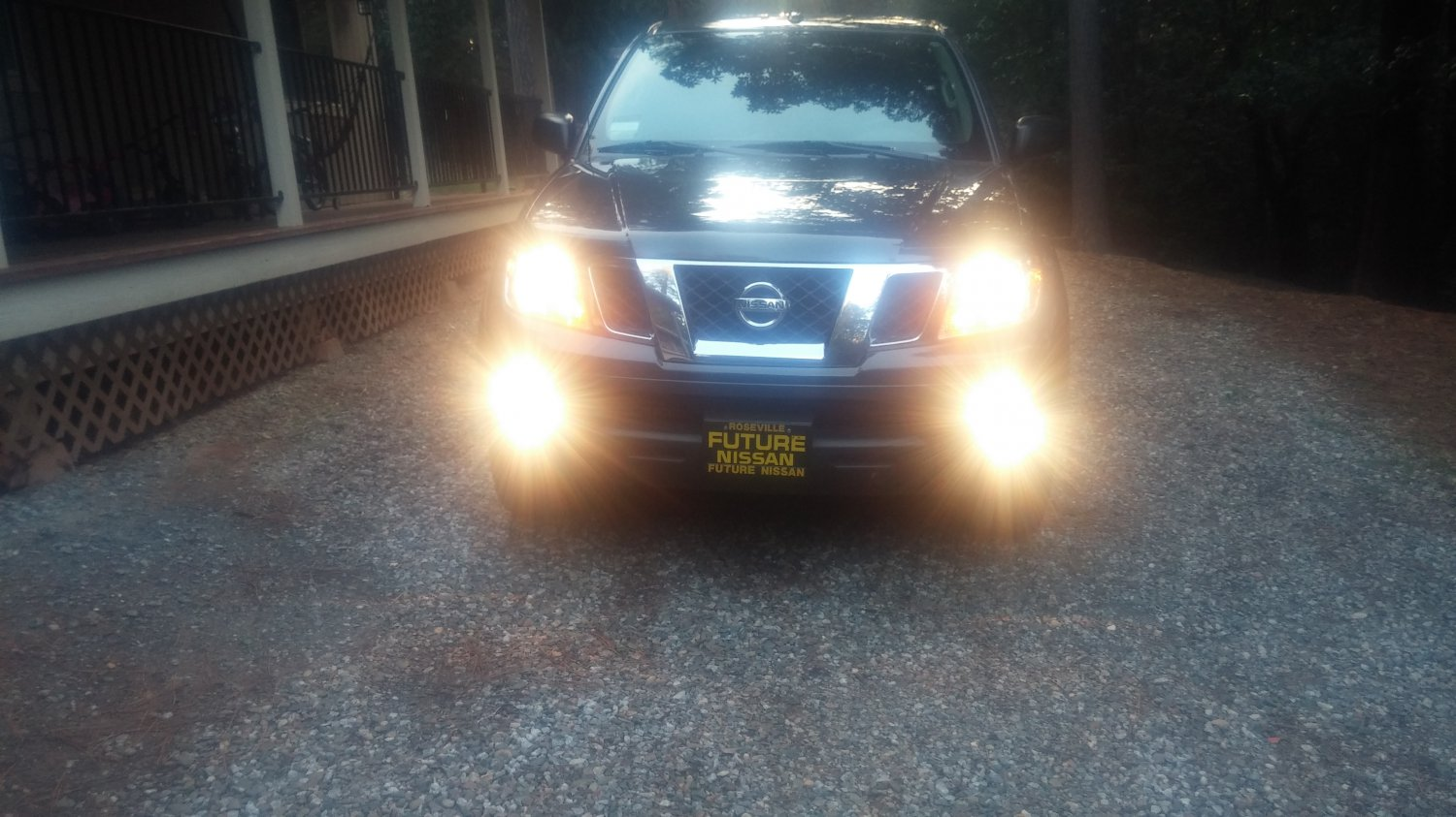 Nissan Navara D40 Fog Light Wiring Diagram : Nissan navara d fog lamps lights