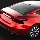 Nissan Maxima Smoked Taillights Film Overlay Taillamps Covers