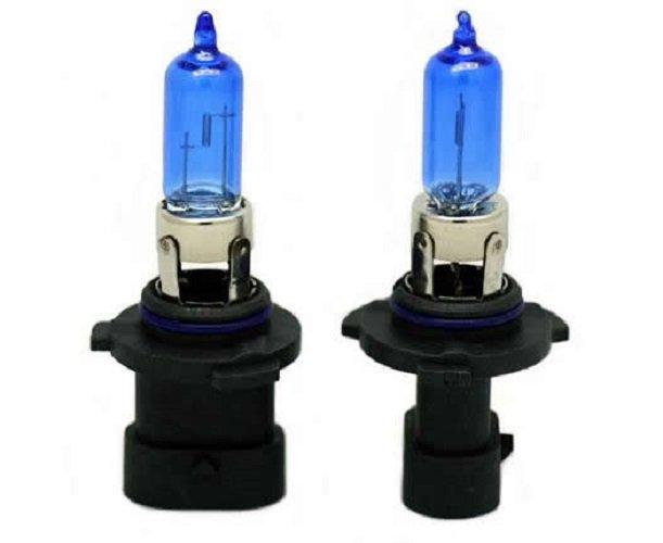 9006XS Straight Base 5900K 100W White Light Bulbs Twin Pack