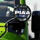 Jeep Wrangler PIAA 510 Side Mirror Driving Lights Windshield Pillar Auxilliary Lamps