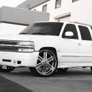 Chevrolet Suburban Street Scene Body Kit Bumper Fog Lamps Lights