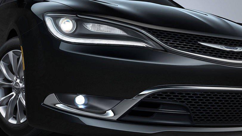 2011-2016 Chrysler 200 Xenon Fog Lamps Driving Lights Kit