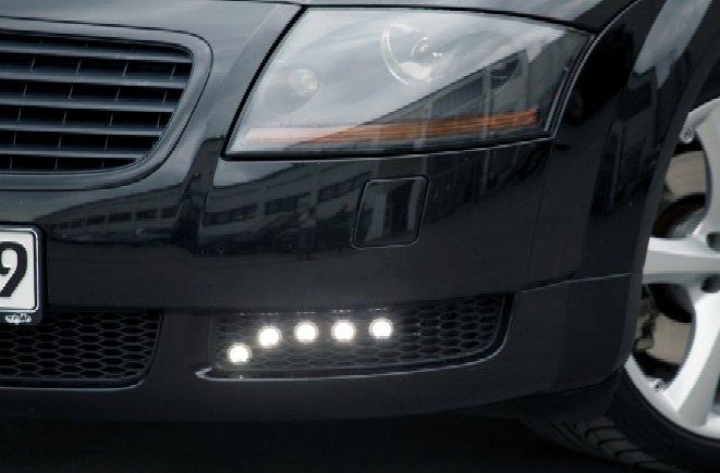 PIAA Audi TT LED DRL 6000K Daytime Running Lamp Kit