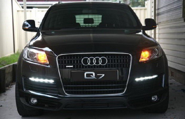 piaa audi q7 q5 q3 allroad led drl 6000k daytime running. Black Bedroom Furniture Sets. Home Design Ideas